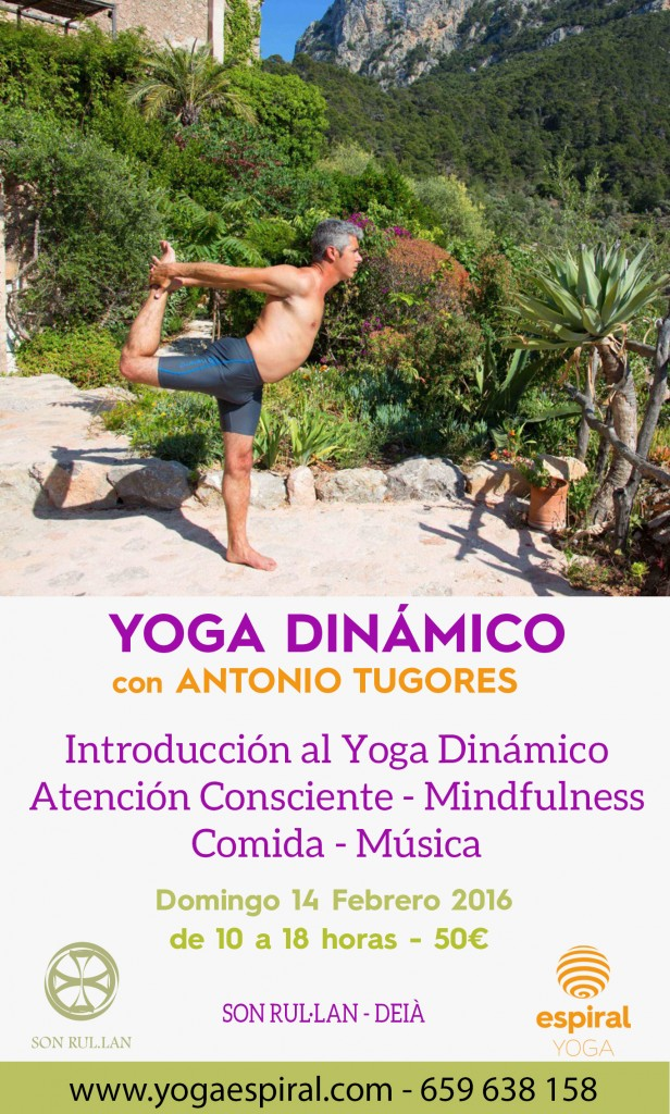 flyer brunch yoga dinámico